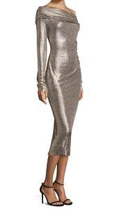 NWT Rachel Zoe Metallic Dress